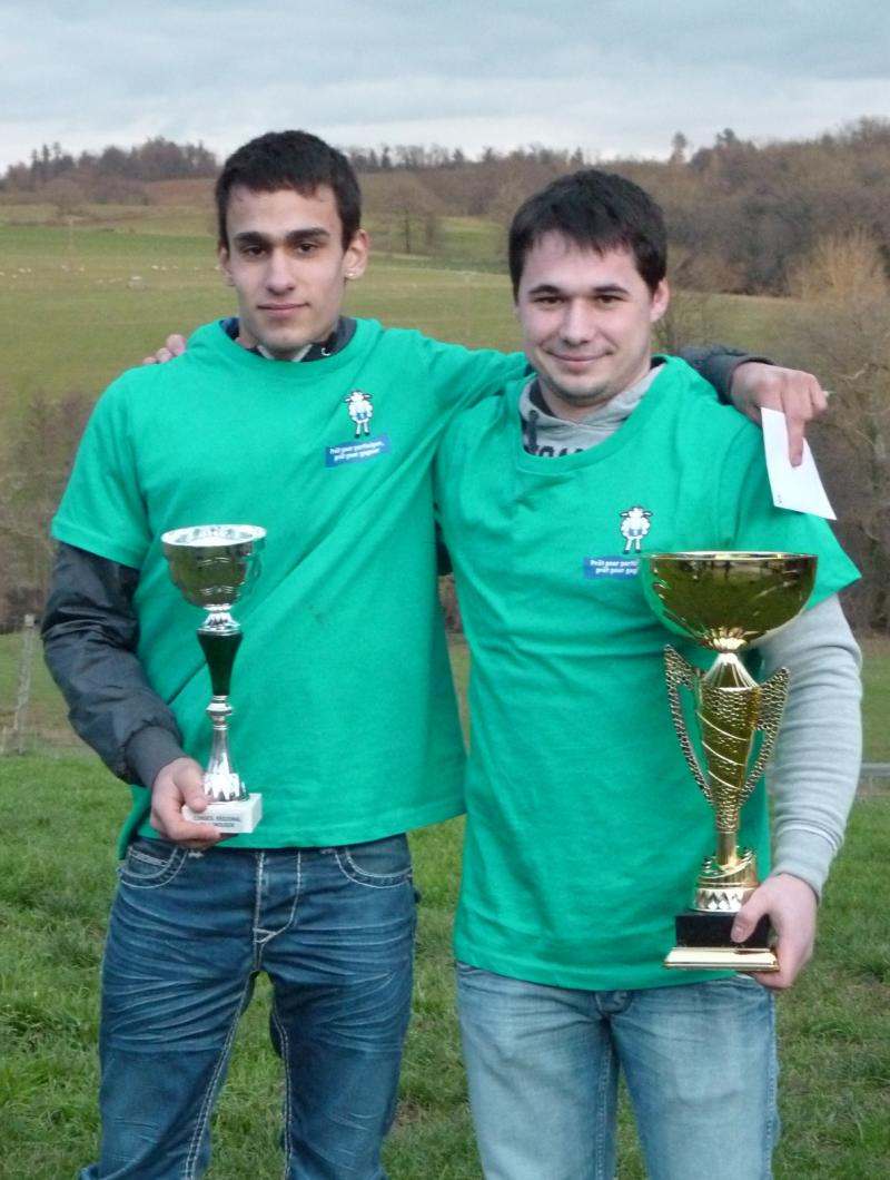 Morgan LAURENT et Paul DAVID sont s�lectionn�s pour la finale nationale. � La Creuse agricole et rurale