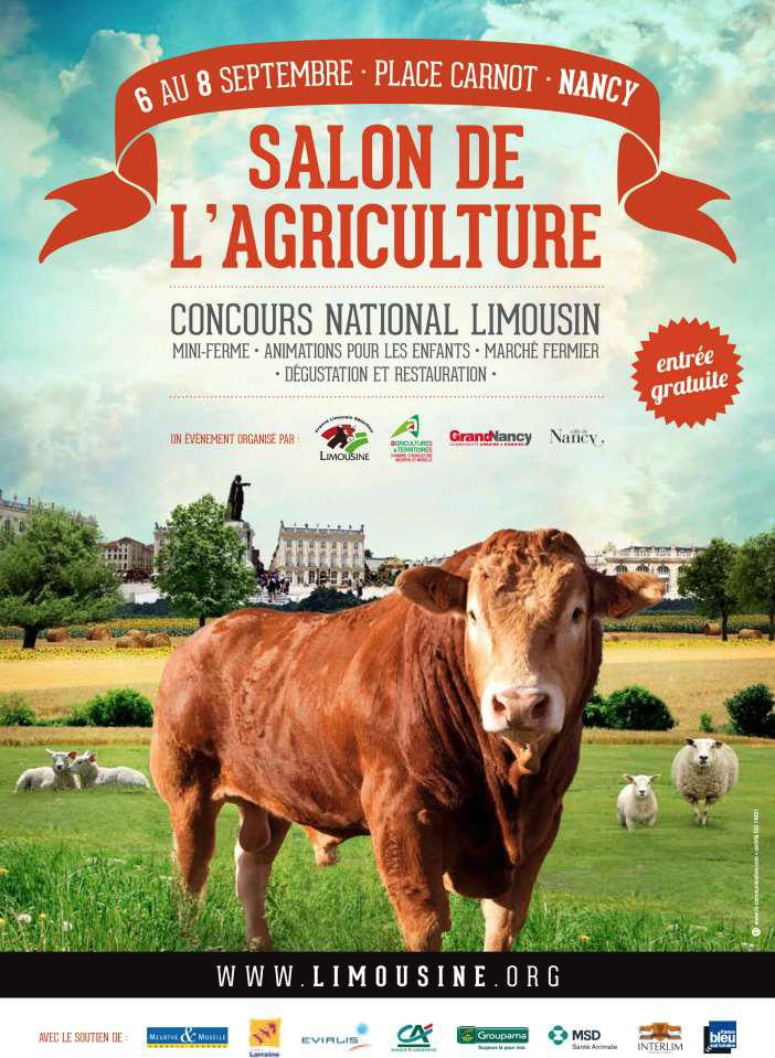 Race limousine le national limousin en lorraine - Salon de l agriculture machine agricole ...